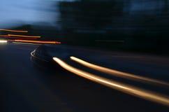 Auto en la calle Fotografía de archivo