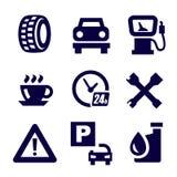 Auto en reparatie Royalty-vrije Stock Afbeeldingen