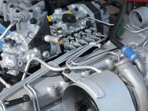 The auto engine Stock Photo