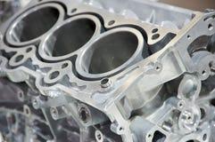 Auto engine. Close-up of vehicle engine Stock Images