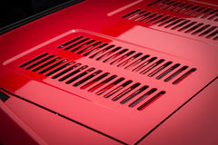 Auto engine grille. Stock Images