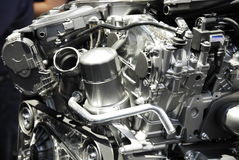 Auto engine model Stock Photo