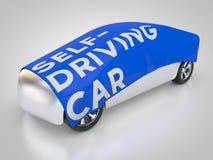 Auto-entraînement de la voiture Photos libres de droits