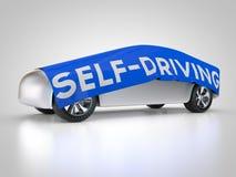 Auto-entraînement de la voiture Photo stock