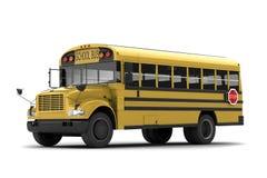Auto escolar Imagem de Stock Royalty Free