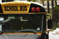 Ônibus escolar Fotografia de Stock