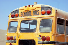 Auto escolar amarelo Fotos de Stock Royalty Free