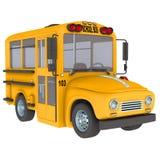 Auto escolar amarelo Fotografia de Stock Royalty Free