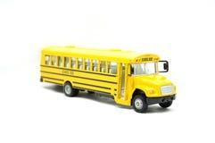 Auto escolar do brinquedo Fotos de Stock Royalty Free