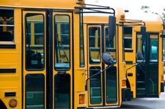Auto escolares Fotografia de Stock Royalty Free