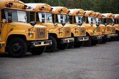 Auto escolares Imagens de Stock Royalty Free