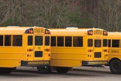 Auto escolares Foto de Stock Royalty Free