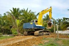 Auto excavatior stockfotografie