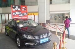 Auto exhibition sales Stock Photos
