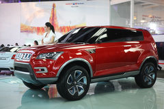 Auto Expo 2012 Stock Photo