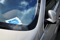 Auto für Sperrungstreiber Lizenzfreies Stockfoto