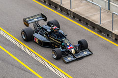 Auto F1 Lotuss 77 Lizenzfreie Stockfotos