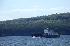 Auto Ferry Stock Photo
