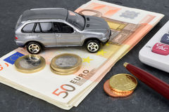 Auto Finance Royalty Free Stock Photos