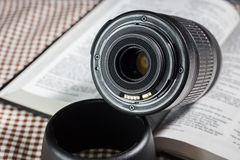 Auto focus lens Stock Photography