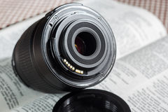 Auto focus lens Royalty Free Stock Images