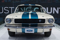 Auto 1966 Ford Mustangs Shelby GT350 auf Anzeige am LA Auto Sho Stockfoto