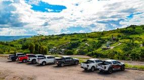 Auto Ford Ranger royalty-vrije stock afbeeldingen