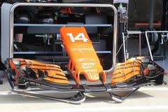 Auto Formel 1 Mclaren Honda Stockfotografie