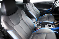 Auto Front Seats Royalty-vrije Stock Afbeeldingen