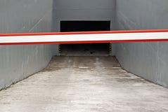 Auto garage entrance Stock Images