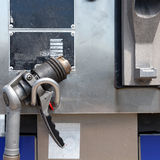Auto gas filling gun Royalty Free Stock Images