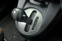 Automotive gear systems. Auto gear change system.Car accessories and parts royalty free stock photo
