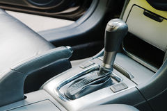 Auto gear shift handle Stock Images