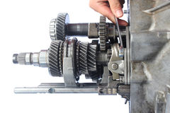 Auto gearbox usługa Fotografia Stock