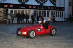 Auto gilco-Mariani bij 1000 Miglia 2010 Stock Fotografie