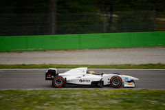 Auto GP Formula car test at Monza Stock Photo