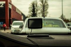 Auto gps lizenzfreies stockbild