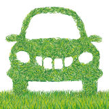 Auto grass Royalty Free Stock Photography
