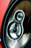 auto hög sound högtalare Royaltyfria Bilder