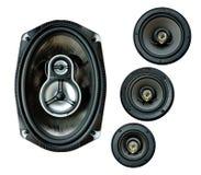 auto högt sound högtalaresystem Royaltyfri Bild
