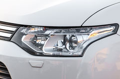Modern auto headlight Stock Image