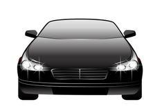 Auto hergestellt in 3d lizenzfreie abbildung