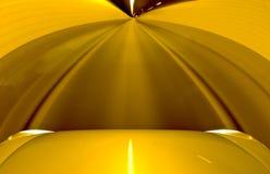Auto het drijven door een tunnel Stock Afbeeldingen