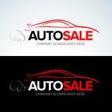 Auto het embleemmalplaatje van de verkoopauto, Autoauto's, Autoembleem, Snelheid, automobiel, auto de dienstenembleem, het emblee royalty-vrije illustratie