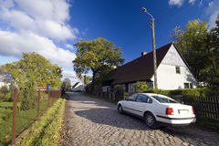 Auto in het land Stock Foto's