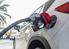 Auto het Van brandstof voorzien stock fotografie
