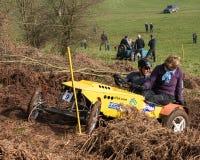 Auto Hill Climb Royalty Free Stock Photography