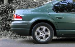 Auto-hinterer Teil Stockfoto