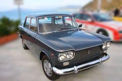 Auto historiska Fiat 1500 Royaltyfri Foto