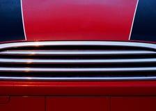 Auto Hood Detail Stockfotos